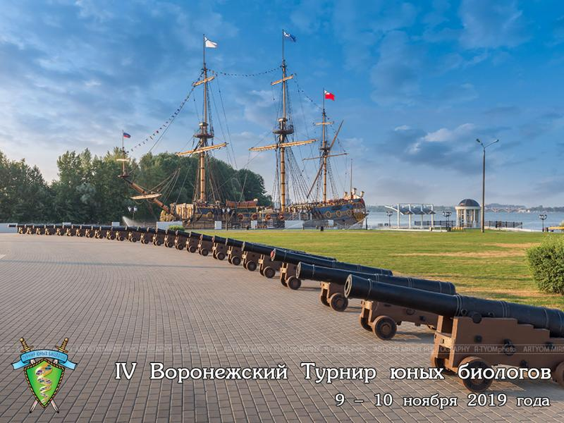 Постер Воронежского Турнира юных биологов 2019 года